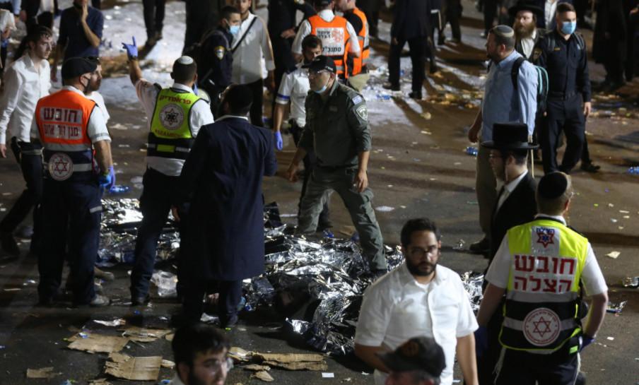 以色列踩踏事件遇难者升至44人