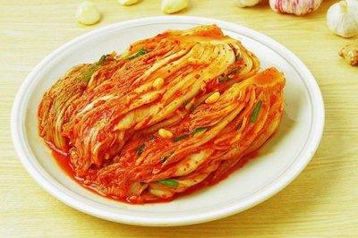 韩国泡菜的制作方法和步骤
