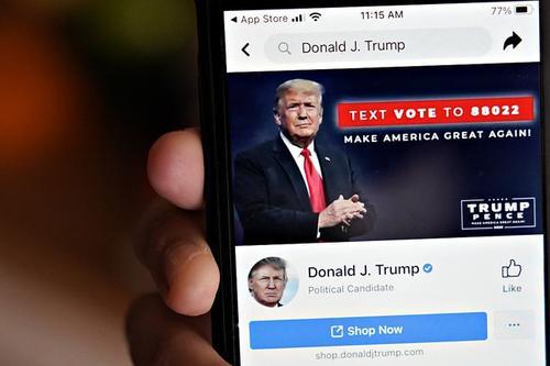 脸书将删除所有带特朗普声音的内容