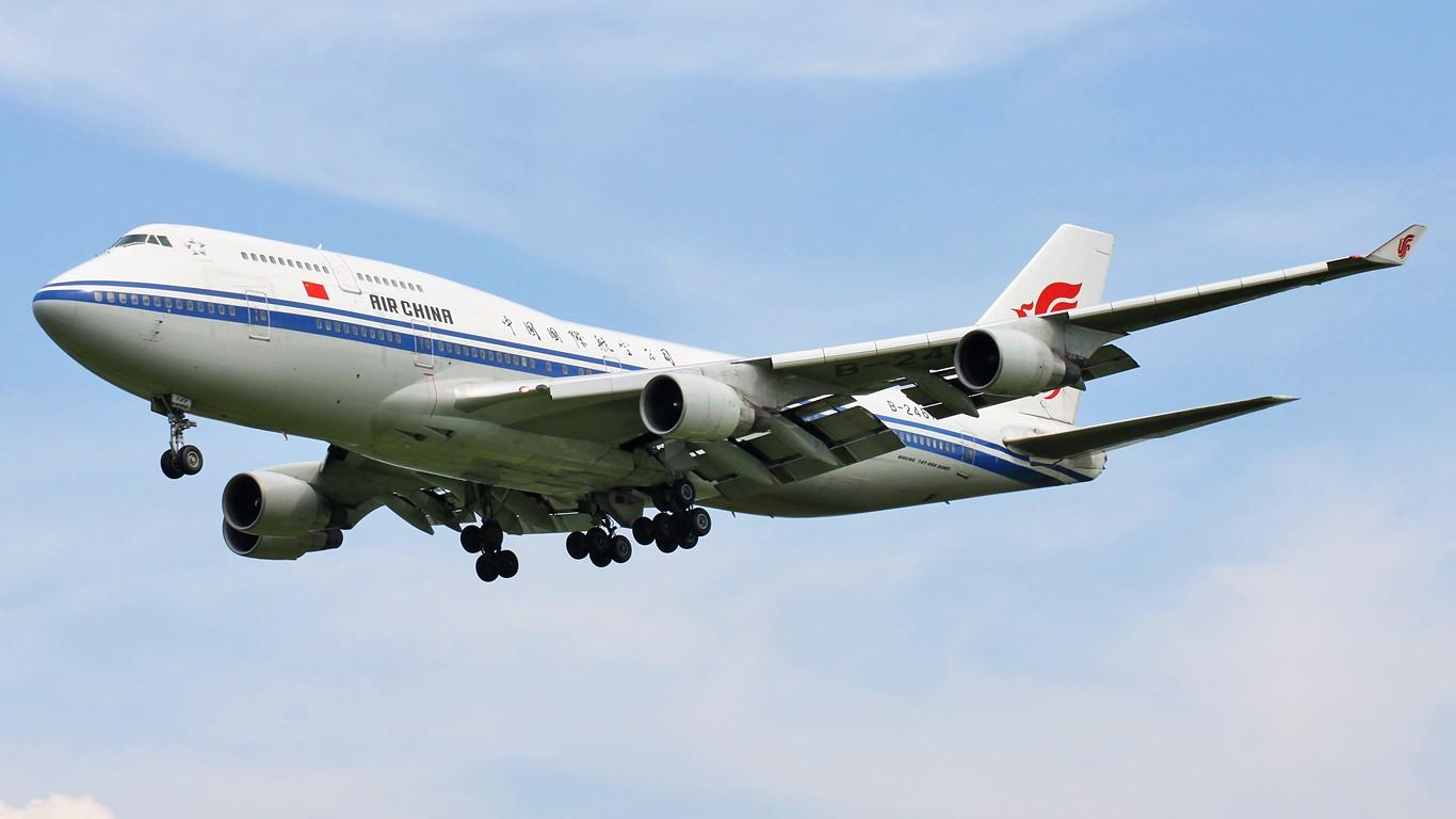 国航一航班因乘客谎称有炸弹返航