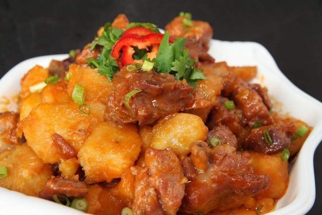 土豆炖鸡腿最简单做法