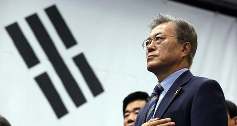 韩国执政党领导层集体辞职