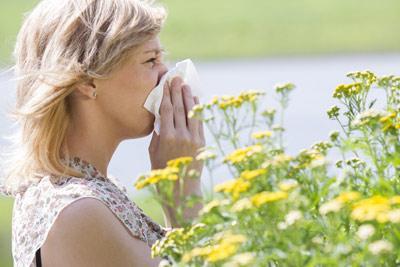 远离鲜花为何还过敏