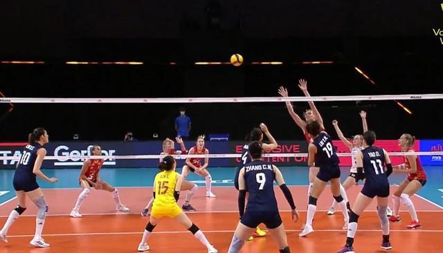 中国女排2-3不敌比利时女排