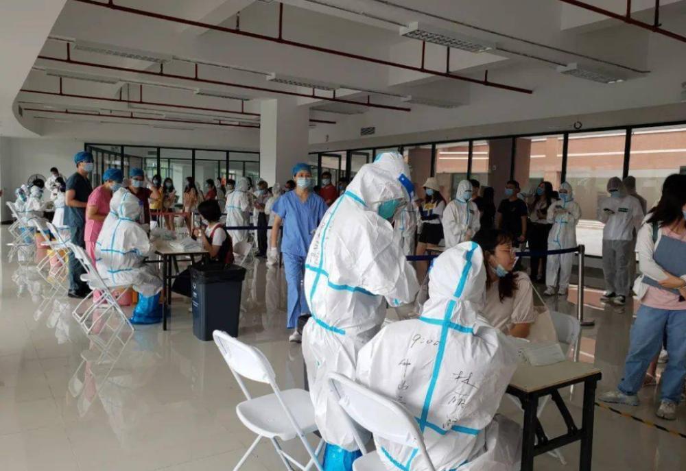 广州核酸大排查共发现阳性40人