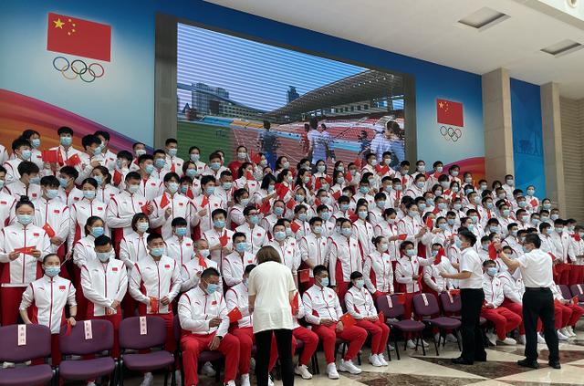 东京奥运中国代表团共777人