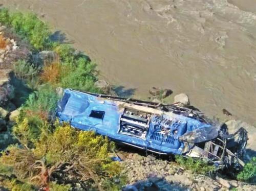 巴基斯坦公交爆炸 中国公民9死28伤