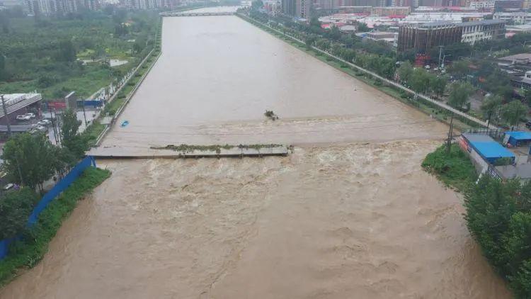 河北1地现1963年以来最大洪水