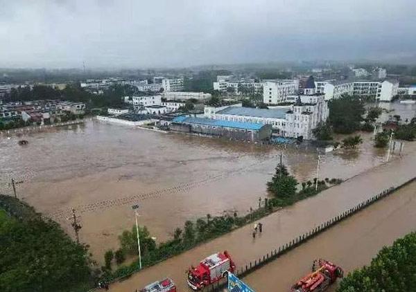 郑州特大暴雨千年一遇