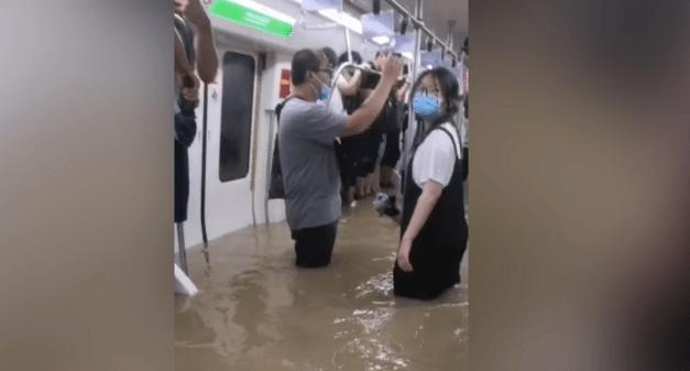 郑州暴雨遇难12人为地铁受困人员
