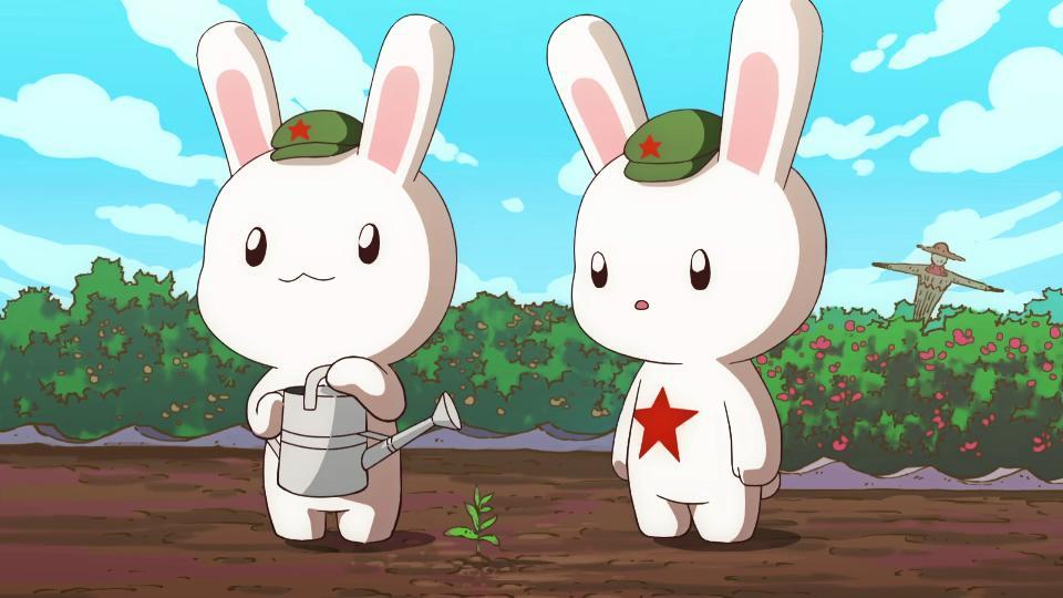 为什么用兔子代表种花家