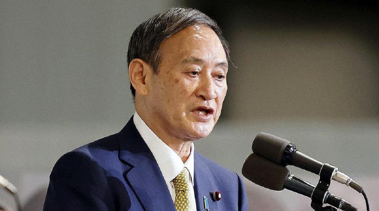 日媒:菅义伟月底将辞去首相职务