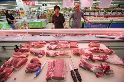 8月猪肉价格同比下降44.9%