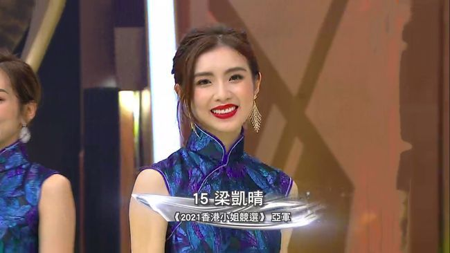2021年香港小姐冠军是谁