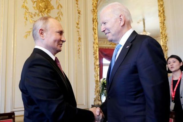 美记者:普京曾对拜登说有点不高兴